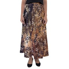 Star Sky Graphic Night Background Flared Maxi Skirt by Celenk