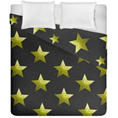 Stars Backgrounds Patterns Shapes Duvet Cover Double Side (california King Size) by Celenk
