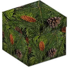 Branch Christmas Cone Evergreen Storage Stool 12   by Celenk