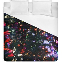 Abstract Background Celebration Duvet Cover (king Size)