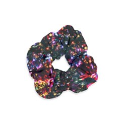 Abstract Background Celebration Velvet Scrunchie by Celenk