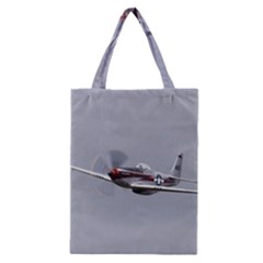P-51 Mustang Flying Classic Tote Bag by Ucco