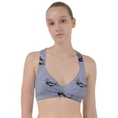 P 51 Mustang Flying Sweetheart Sports Bra