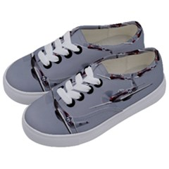 P 51 Mustang Flying Kids  Classic Low Top Sneakers by Ucco