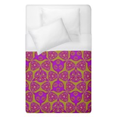 Sacred Geometry Hand Drawing Duvet Cover (single Size) by Cveti