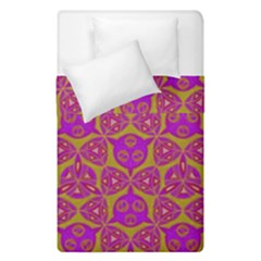 Sacred Geometry Hand Drawing Duvet Cover Double Side (single Size)
