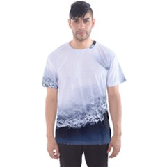 Ice, Snow And Moving Water Men s Sports Mesh Tee