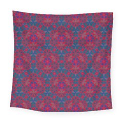 Bereket Red Blue Square Tapestry (large) by Cveti