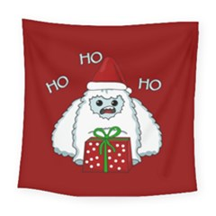 Yeti Xmas Square Tapestry (large) by Valentinaart