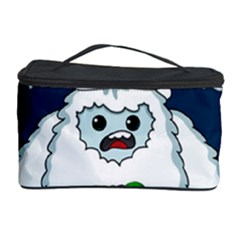 Yeti Xmas Cosmetic Storage Case by Valentinaart