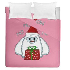 Yeti Xmas Duvet Cover Double Side (queen Size)