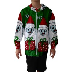 Yeti Xmas Hooded Wind Breaker (kids)