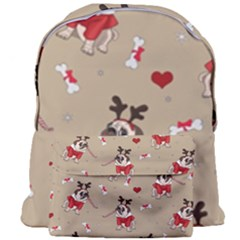 Pug Xmas Pattern Giant Full Print Backpack
