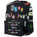 Santa s note Giant Full Print Backpack View4