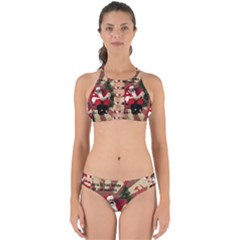 Karl Marx Santa  Perfectly Cut Out Bikini Set