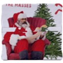 Karl Marx Santa  Back Support Cushion View4