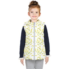 Chilli Pepers Pattern Motif Kid s Puffer Vest