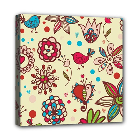 Spring Time Fun Mini Canvas 8  X 8  by allthingseveryone