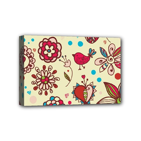 Spring Time Fun Mini Canvas 6  X 4  by allthingseveryone