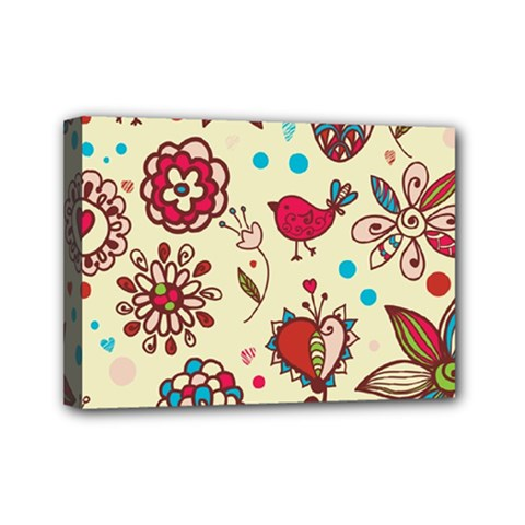 Spring Time Fun Mini Canvas 7  X 5  by allthingseveryone