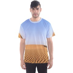 Desert Dunes With Blue Sky Men s Sports Mesh Tee by Ucco