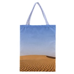 Desert Dunes With Blue Sky Classic Tote Bag by Ucco