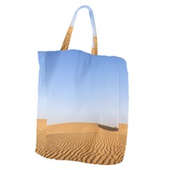 Desert Dunes With Blue Sky Giant Grocery Zipper Tote by Ucco