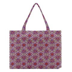 Star And Crystal Shapes 01 Medium Tote Bag by Cveti