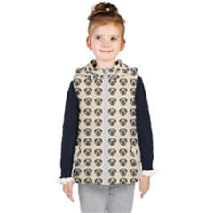 Puppy Dog Pug Pup Graphic Kid s Puffer Vest