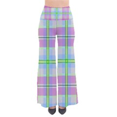 Pink And Blue Plaid Pants by allthingseveryone
