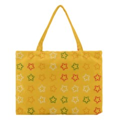 Spray Stars Pattern B Medium Tote Bag by MoreColorsinLife