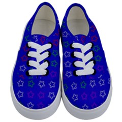 Spray Stars Pattern E Kids  Classic Low Top Sneakers
