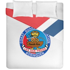 Coast Guard Air Station Borinquen Puerto Rico Duvet Cover Double Side (california King Size) by allthingseveryday
