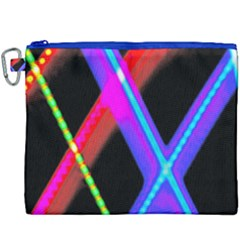Xmas Light Paintings Canvas Cosmetic Bag (xxxl) by Celenk