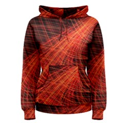 A Christmas Light Painting Women s Pullover Hoodie by Celenk