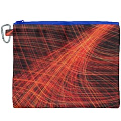 A Christmas Light Painting Canvas Cosmetic Bag (xxxl) by Celenk