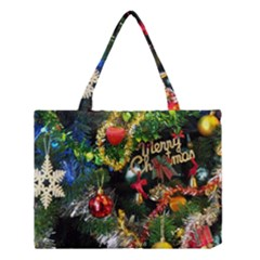 Decoration Christmas Celebration Gold Medium Tote Bag