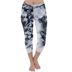 Earth Right Now Capri Winter Leggings  by Celenk