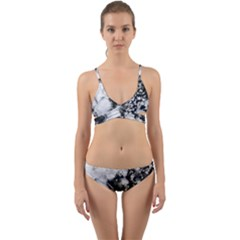 Earth Right Now Wrap Around Bikini Set