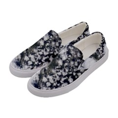 Earth Right Now Women s Canvas Slip Ons by Celenk