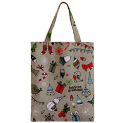 Beautiful Design Christmas Seamless Pattern Classic Tote Bag by Celenk