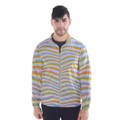 Art Abstract Colorful Colors Wind Breaker (men)