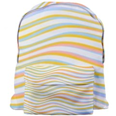 Art Abstract Colorful Colors Giant Full Print Backpack by Celenk