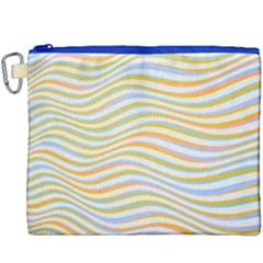Art Abstract Colorful Colors Canvas Cosmetic Bag (xxxl) by Celenk
