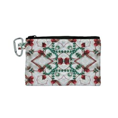 Christmas Paper Canvas Cosmetic Bag (small) by Celenk