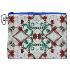 Christmas Paper Canvas Cosmetic Bag (xxl)