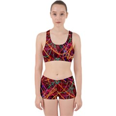 Wave Behaviors Work It Out Sports Bra Set by Celenk