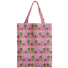 Floral Pattern Classic Tote Bag by SuperPatterns