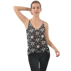 Star Crystal Black White 1 And 2 Cami