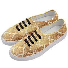 Vintage,gold,damask,floral,pattern,elegant,chic,beautiful,victorian,modern,trendy Women s Classic Low Top Sneakers by 8fugoso